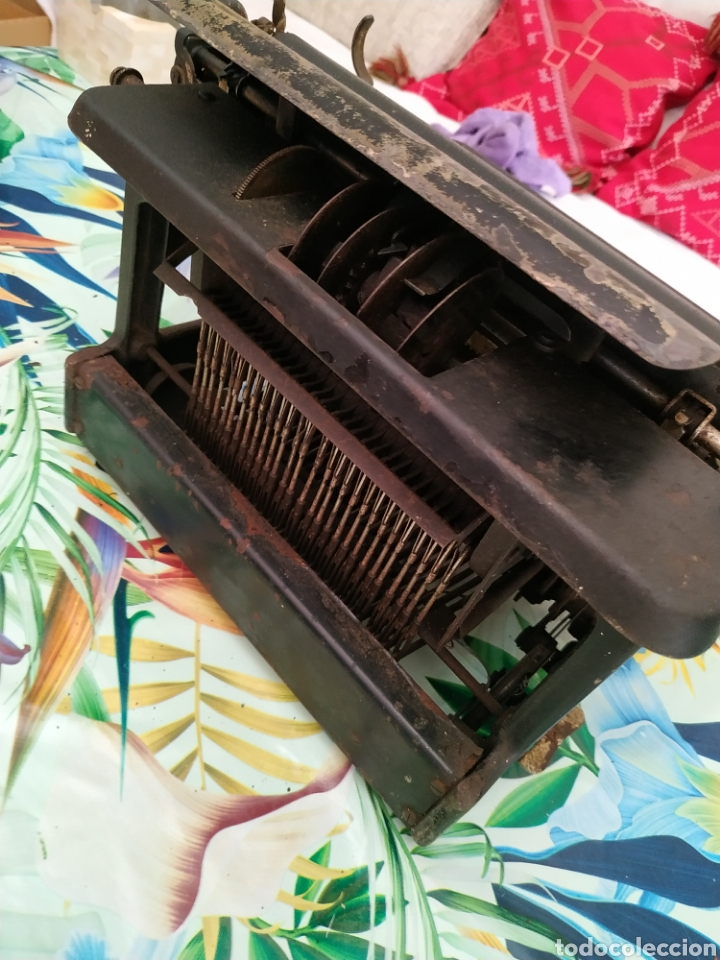 Antigüedades: Máquina de escribir, Remington J. Década 1910 - Foto 6 - 254209765