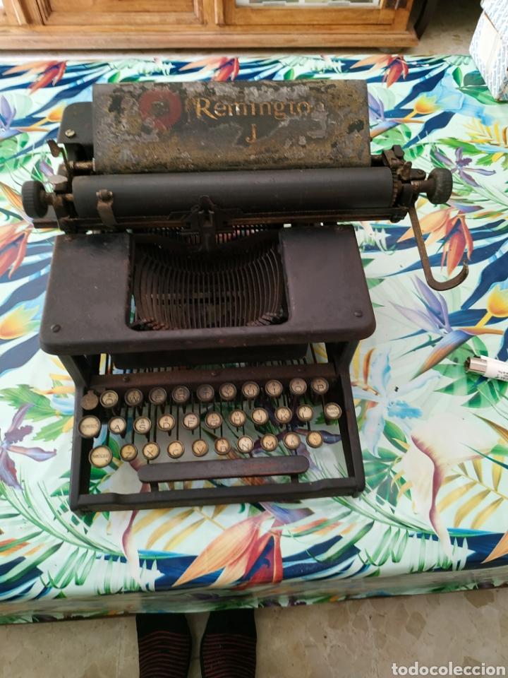 MÁQUINA DE ESCRIBIR, REMINGTON J. DÉCADA 1910 (Antigüedades - Técnicas - Máquinas de Escribir Antiguas - Remington)