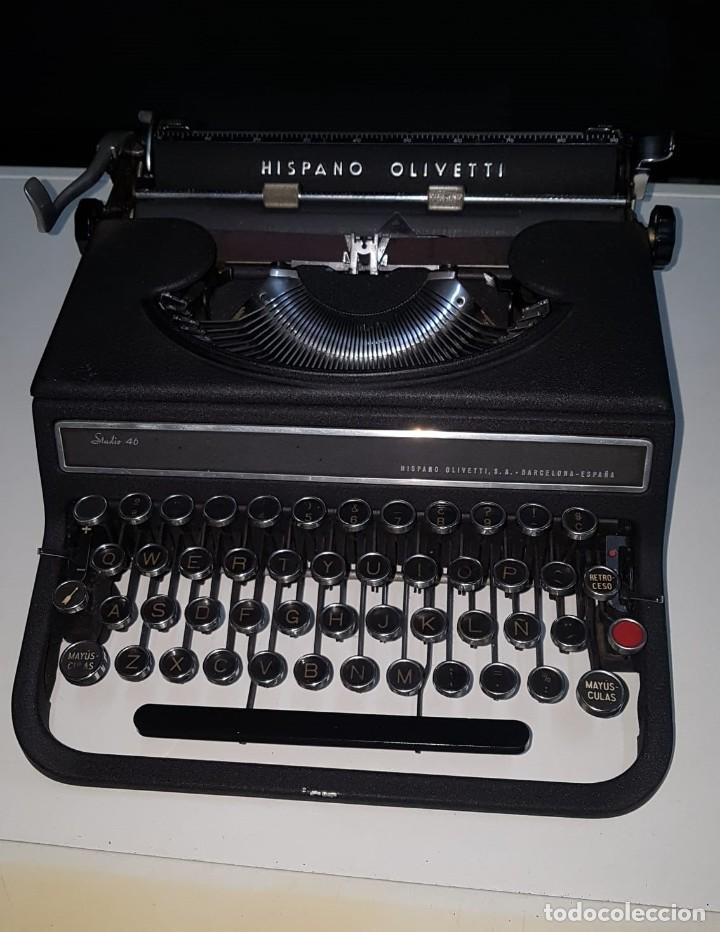 MÁQUINA ESCRIBIR OLIVETTI ANTIGUA (Antigüedades - Técnicas - Máquinas de Escribir Antiguas - Otras)