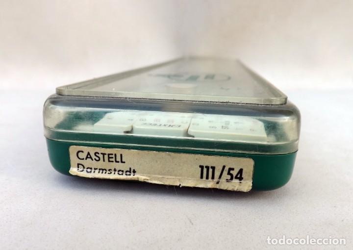 Antigüedades: REGLA DE CÁLCULO FABER CASTELL DARMSTADT 111/54 - Foto 8 - 254280760