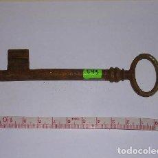 Antigüedades: ANTIGUA LLAVE DE HIERRO FORJADO. Lote 254280765