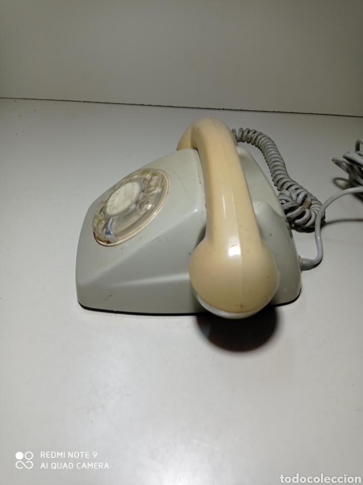 Teléfonos: Antiguo Teléfono heraldo gris de Citesa para CTNE. - Foto 2 - 254306935