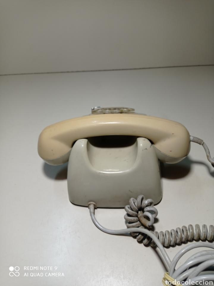 Teléfonos: Antiguo Teléfono heraldo gris de Citesa para CTNE. - Foto 3 - 254306935