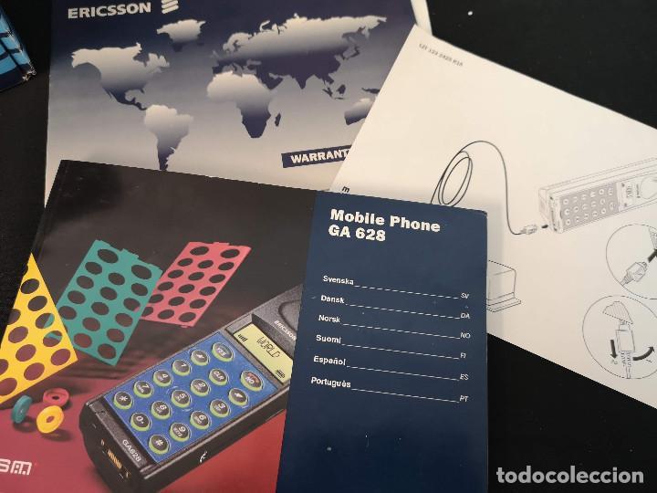Teléfonos: Antiguo telefono movil ERICSSON GA 628 en su caja original con instrucciones y accesorios vintage - Foto 5 - 254361270