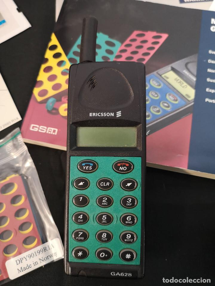 Teléfonos: Antiguo telefono movil ERICSSON GA 628 en su caja original con instrucciones y accesorios vintage - Foto 10 - 254361270