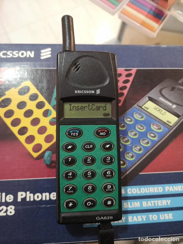 Teléfonos: Antiguo telefono movil ERICSSON GA 628 en su caja original con instrucciones y accesorios vintage - Foto 11 - 254361270