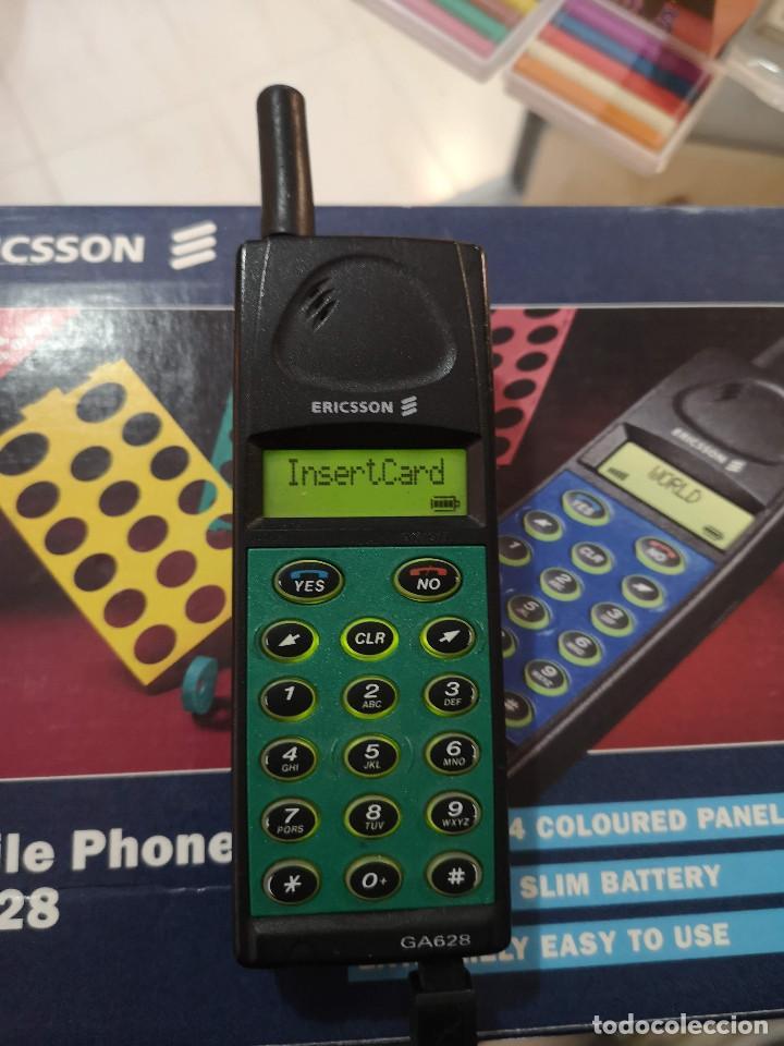 Teléfonos: Antiguo telefono movil ERICSSON GA 628 en su caja original con instrucciones y accesorios vintage - Foto 12 - 254361270
