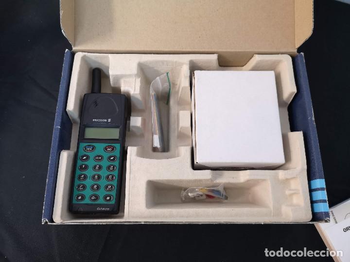 Teléfonos: Antiguo telefono movil ERICSSON GA 628 en su caja original con instrucciones y accesorios vintage - Foto 14 - 254361270