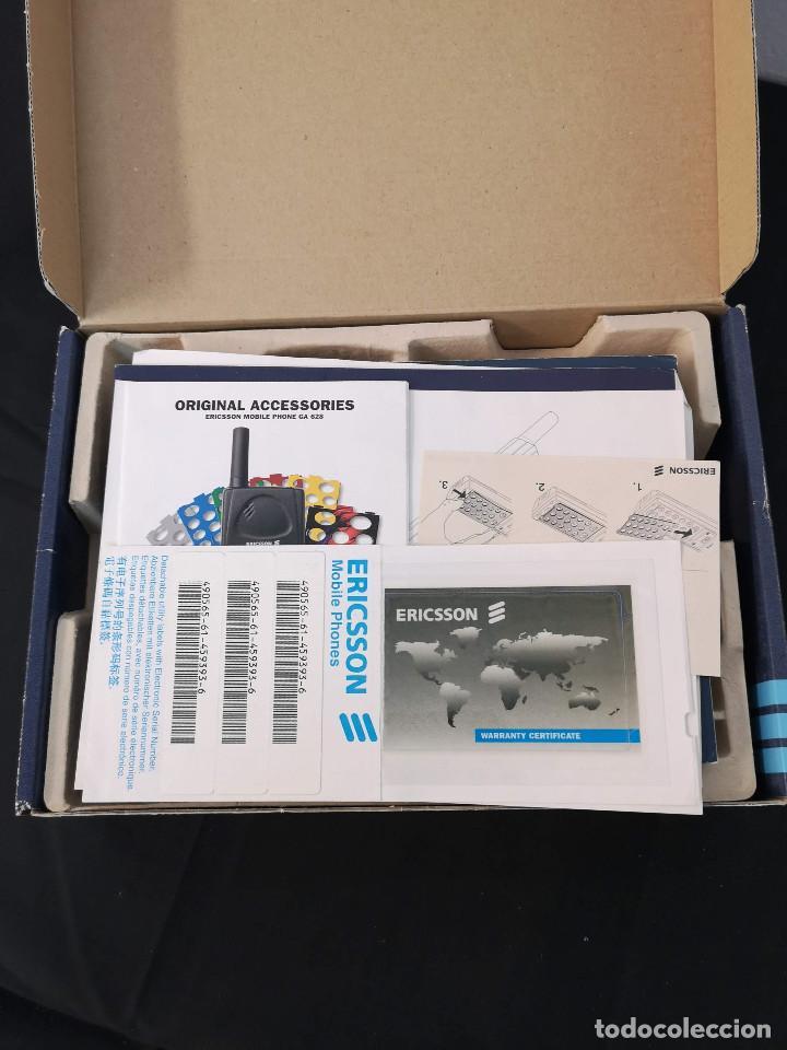 Teléfonos: Antiguo telefono movil ERICSSON GA 628 en su caja original con instrucciones y accesorios vintage - Foto 15 - 254361270