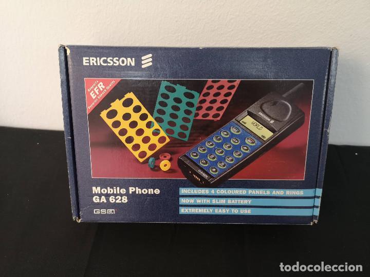 Teléfonos: Antiguo telefono movil ERICSSON GA 628 en su caja original con instrucciones y accesorios vintage - Foto 16 - 254361270