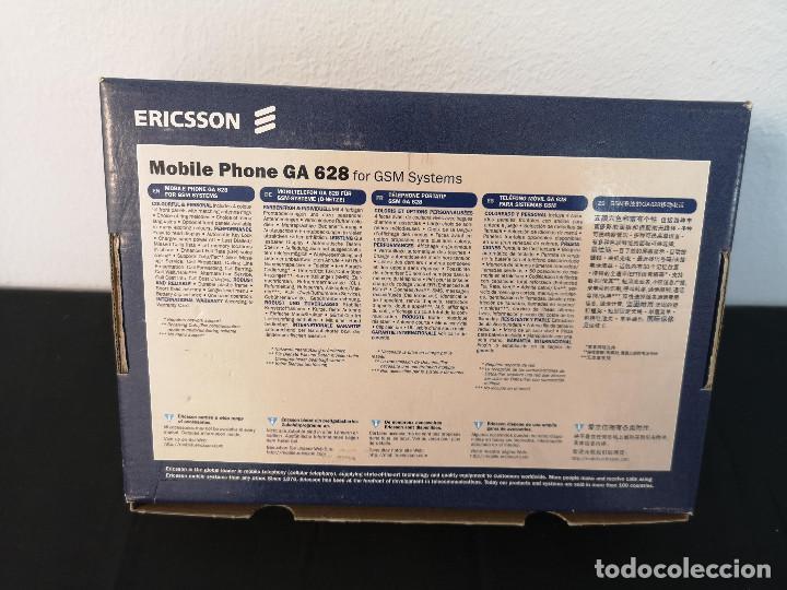 Teléfonos: Antiguo telefono movil ERICSSON GA 628 en su caja original con instrucciones y accesorios vintage - Foto 17 - 254361270