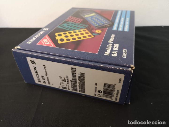 Teléfonos: Antiguo telefono movil ERICSSON GA 628 en su caja original con instrucciones y accesorios vintage - Foto 18 - 254361270
