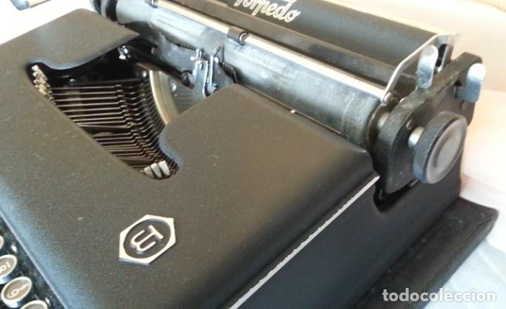 Antigüedades: Máquina escribir antigua. Marca Torpedo. Años 60. - Foto 9 - 254366735