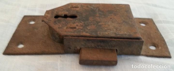 Antigüedades: Cerradura antigua. Dos unidades. - Foto 3 - 254367630