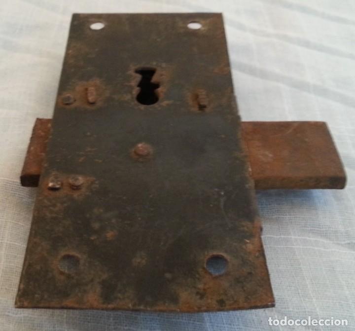 Antigüedades: Cerradura antigua. Dos unidades. - Foto 5 - 254367630