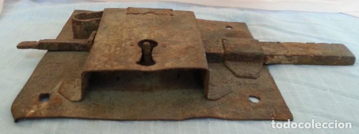 Antigüedades: Cerradura antigua. Dos unidades. - Foto 6 - 254367630