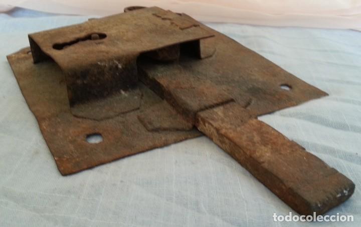 Antigüedades: Cerradura antigua. Dos unidades. - Foto 7 - 254367630