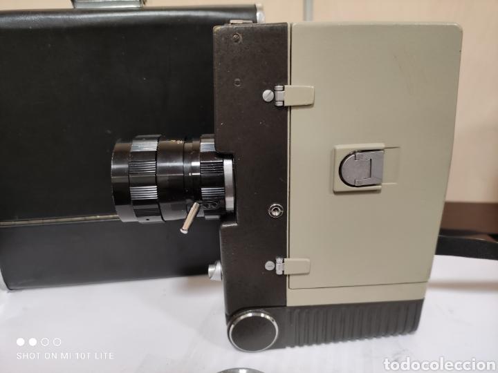 Antigüedades: Cámara de cine 8mm SANKYO 8CM.Año 1963.Con estuche. - Foto 3 - 254389960
