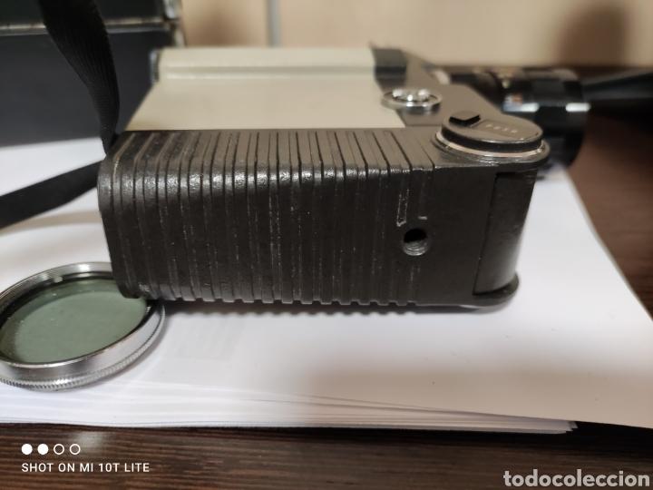 Antigüedades: Cámara de cine 8mm SANKYO 8CM.Año 1963.Con estuche. - Foto 6 - 254389960