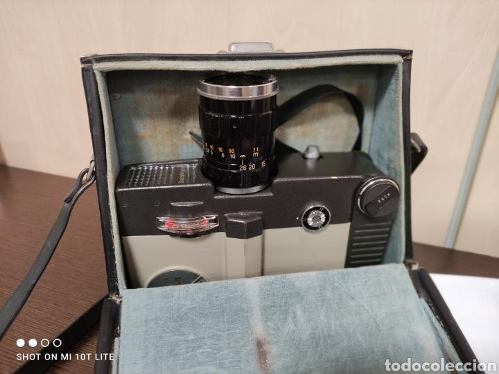Antigüedades: Cámara de cine 8mm SANKYO 8CM.Año 1963.Con estuche. - Foto 12 - 254389960