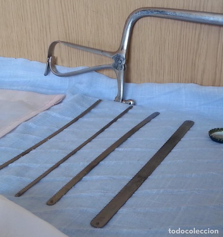 Antigüedades: Sierra quirúrgica para amputación. Años 70. - Foto 3 - 254451295