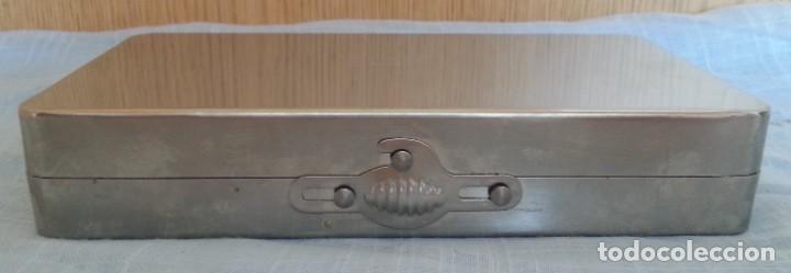 Antigüedades: Traqueotomía. Kit de Instrumental. - Foto 12 - 254452965