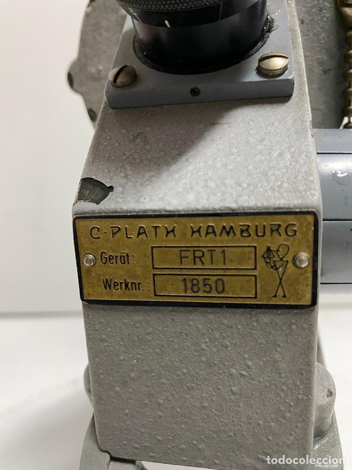 Antigüedades: Telémetro antiguo de barco de Guerra - Foto 7 - 254501115