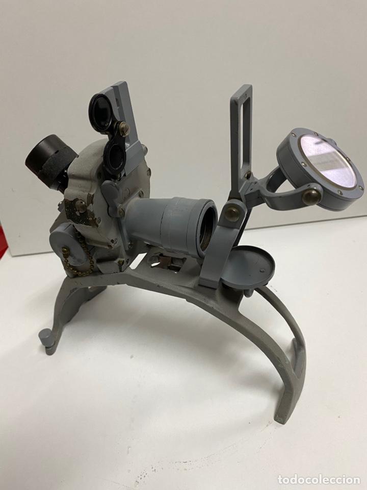 TELÉMETRO ANTIGUO DE BARCO DE GUERRA (Antigüedades - Técnicas - Otros Instrumentos Ópticos Antiguos)