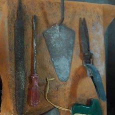 Antigüedades: LOTE II DE 8 HERRAMIENTAS ANTIGUAS. Lote 254520305