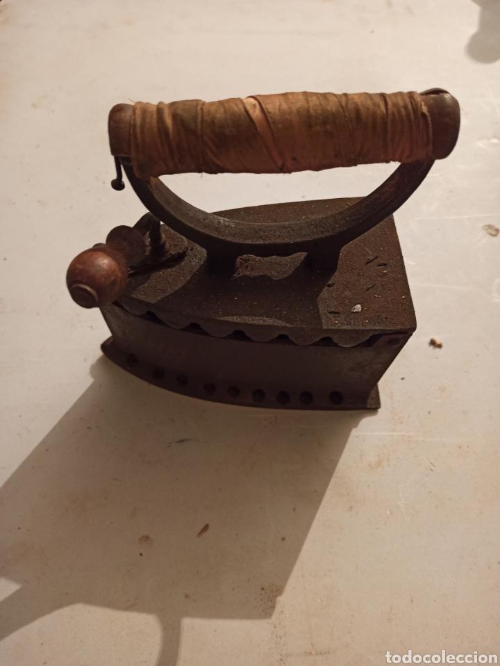 Antigüedades: Plancha de carbón - Foto 2 - 254522065