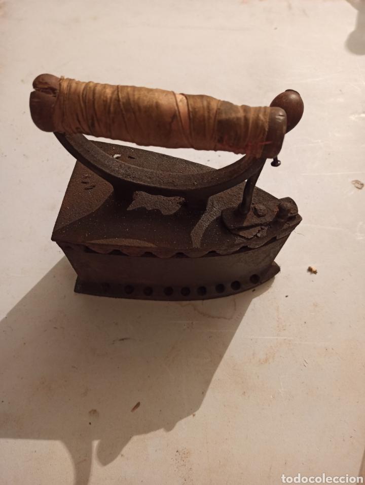Antigüedades: Plancha de carbón - Foto 4 - 254522065