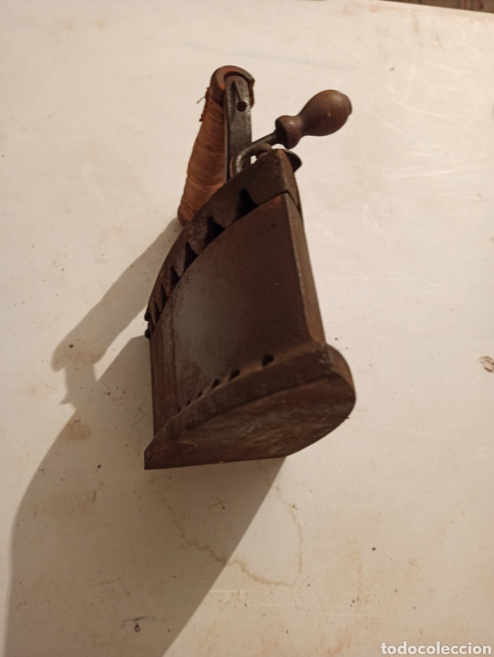 Antigüedades: Plancha de carbón - Foto 5 - 254522065