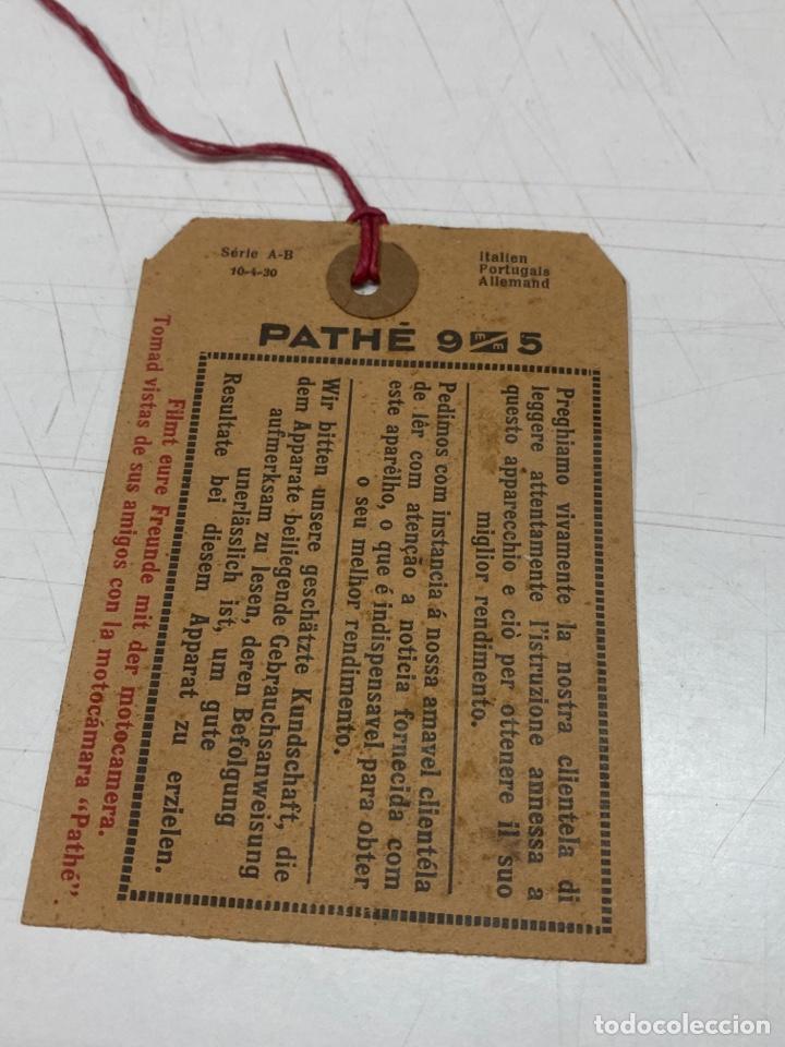 """Antigüedades: PROYECTOR ANTIGUO PATHÉ KID AÑOS 20 DE 9,5mm CON """"CHARLOT HACE CONQUISTAS"""" Y 10 PELÍCULAS MÁS - Foto 65 - 254567930"""