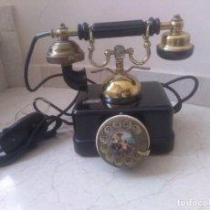 Telefones: PRECUOSO Y ANTIGUO TELEFONO GOYA EN NEGRO. Lote 254570670