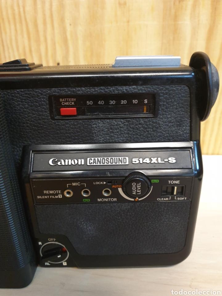 Antigüedades: Filmadora Canonsound - Foto 5 - 254592445