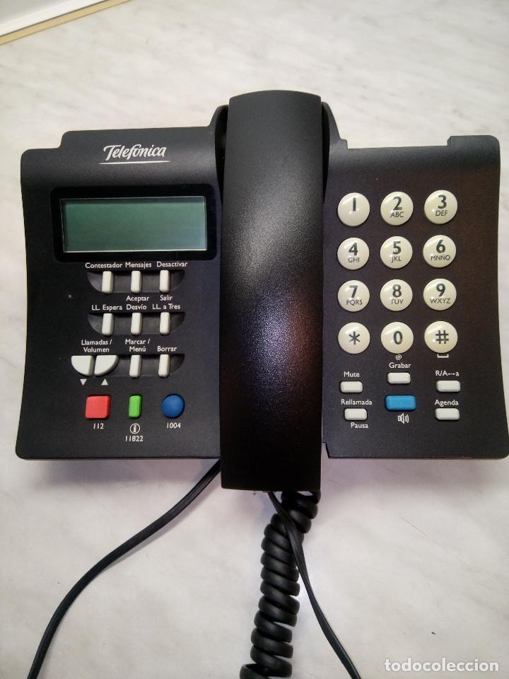 TELEFONO DOMO - TELEFONICA. FUNCIONANDO EN LINEAS ADSL. MUCHAS FUNCIONES. DESCRIP. Y FOTOS. (Antigüedades - Técnicas - Teléfonos Antiguos)