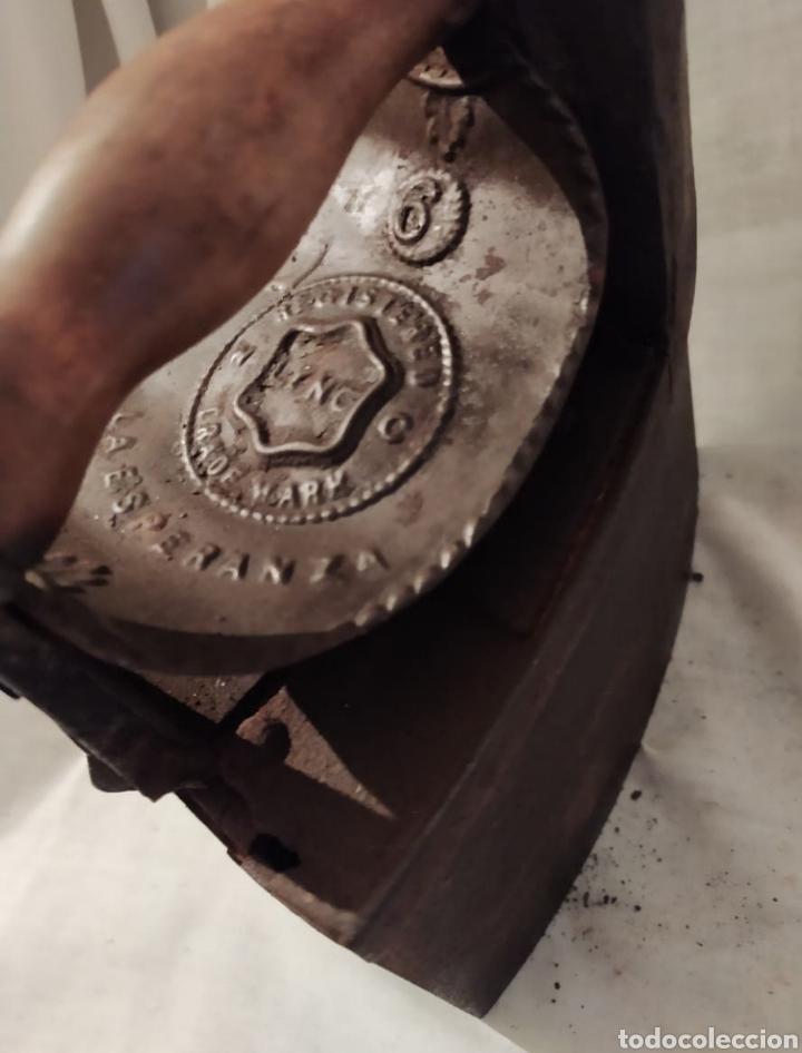 Antigüedades: plancha carbón chinenea la Esperanza N°6 - Foto 2 - 254715275