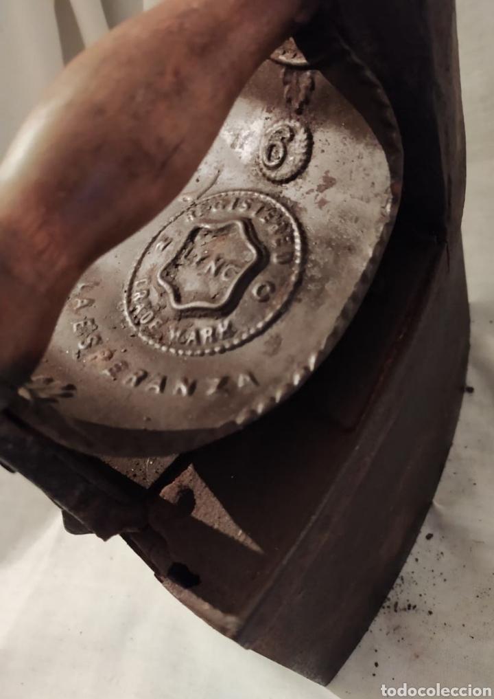 Antigüedades: plancha carbón chinenea la Esperanza N°6 - Foto 3 - 254715275