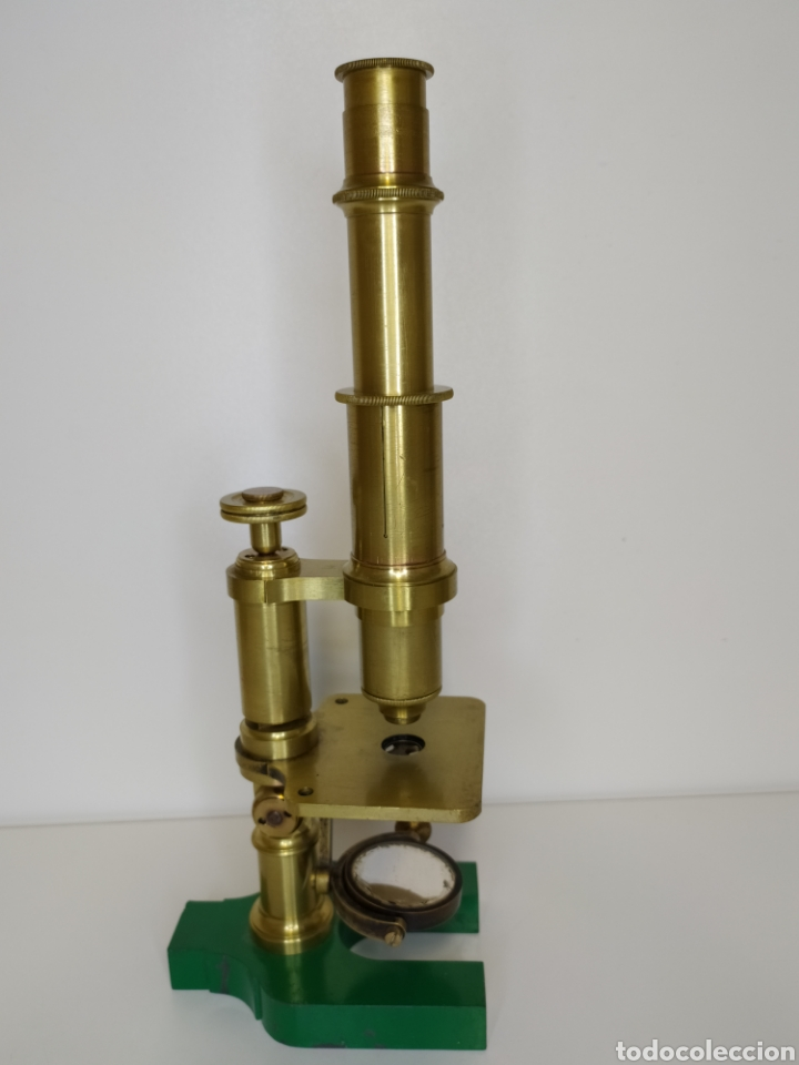 Antigüedades: Antiguo microscopio Hartnack. Postdam. C. 1875 - Foto 3 - 254743365