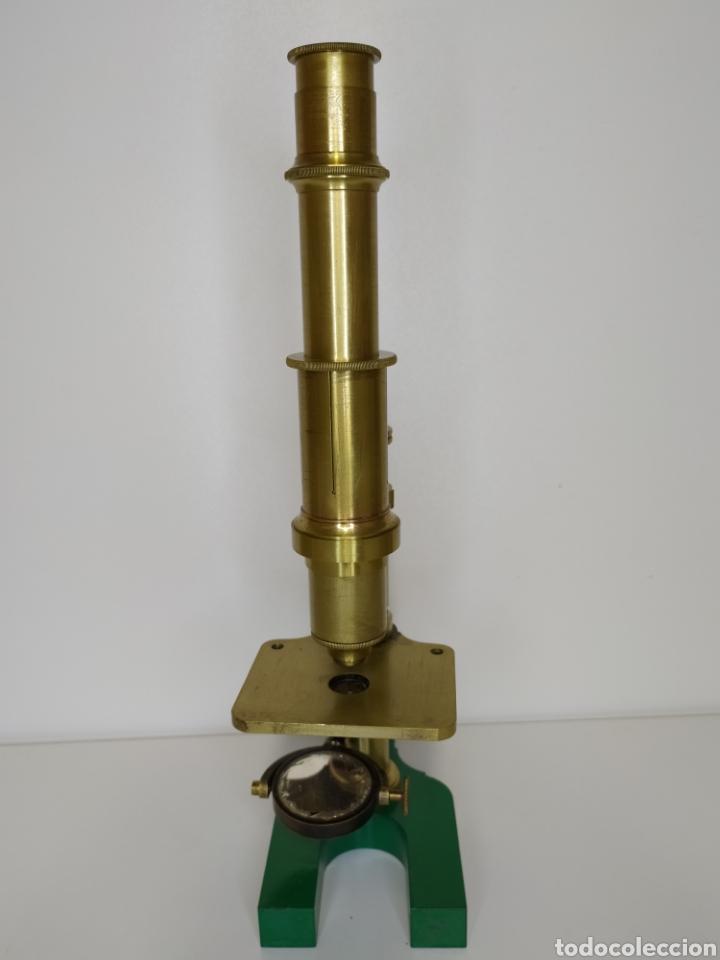 Antigüedades: Antiguo microscopio Hartnack. Postdam. C. 1875 - Foto 4 - 254743365