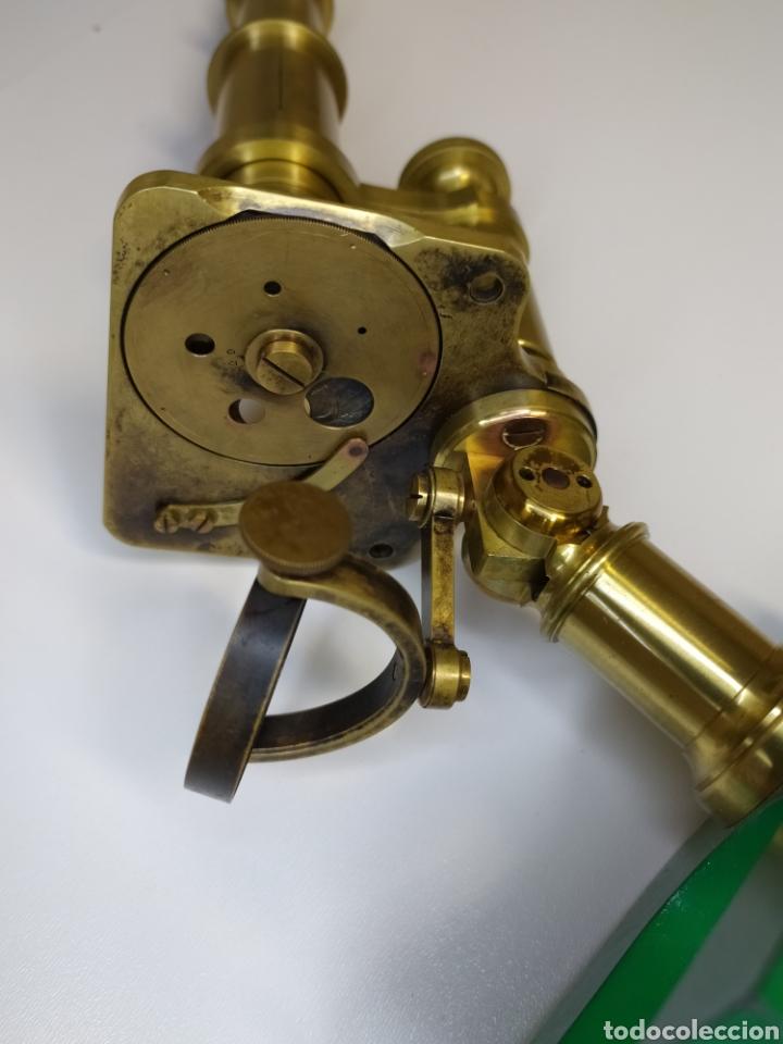 Antigüedades: Antiguo microscopio Hartnack. Postdam. C. 1875 - Foto 5 - 254743365