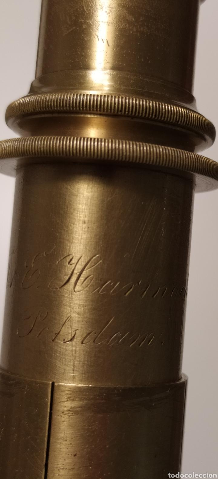 Antigüedades: Antiguo microscopio Hartnack. Postdam. C. 1875 - Foto 11 - 254743365