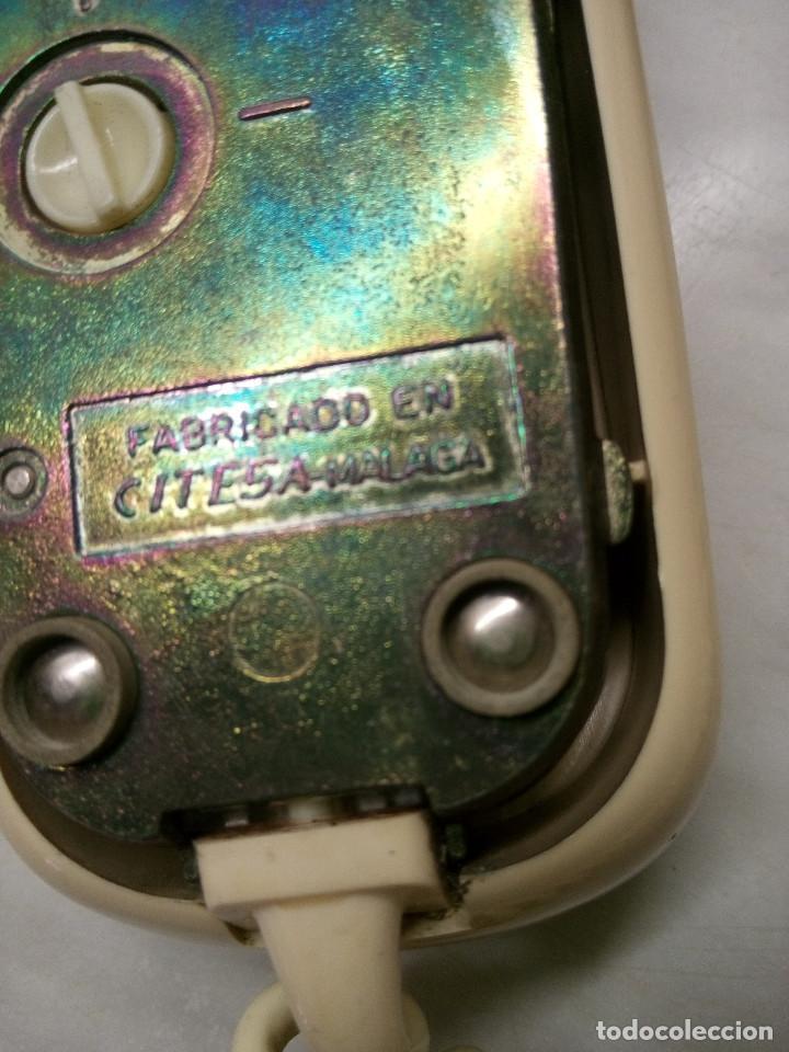 Teléfonos: TELEFONO GONDOLA DE MESA. TELEFONICA. FUNCIONANDO. AÑOS 70. COLOR CREMA. FOTOS. - Foto 5 - 254747510