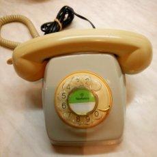 Teléfonos: TELEFONO HERALDO DE MESA. TELEFONICA. AÑOS 70. FUNCIONANDO. DESCRIPCION Y FOTOS.. Lote 254757020