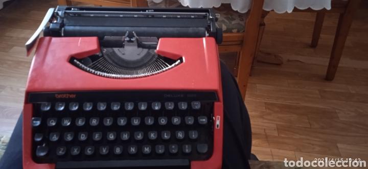MÁQUINA DE ESCRIBIR BROTHER DELUXE 220 (Antigüedades - Técnicas - Máquinas de Escribir Antiguas - Otras)