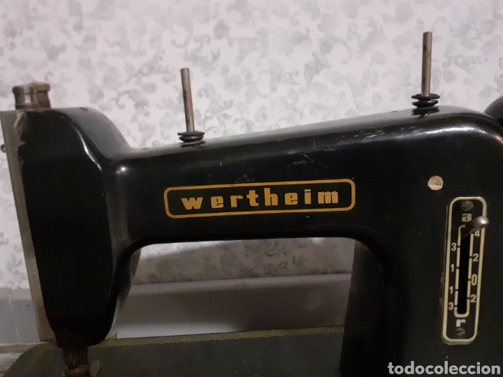 Antigüedades: Cabeza máquina de coserWerheim - Foto 2 - 254804970