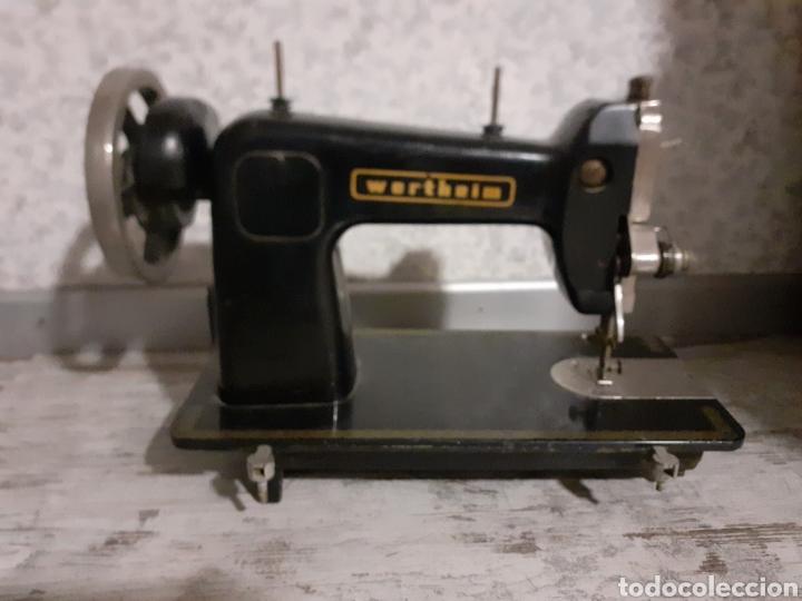 Antigüedades: Cabeza máquina de coserWerheim - Foto 5 - 254804970