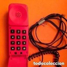 Teléfonos: TELEFONO ROJO BENJAMIN HECHO POR TELYCO PARA TELEFONICA, ORIGINAL ES DE LOS ALOS 60/70 FUNCIONANDO. Lote 254812675