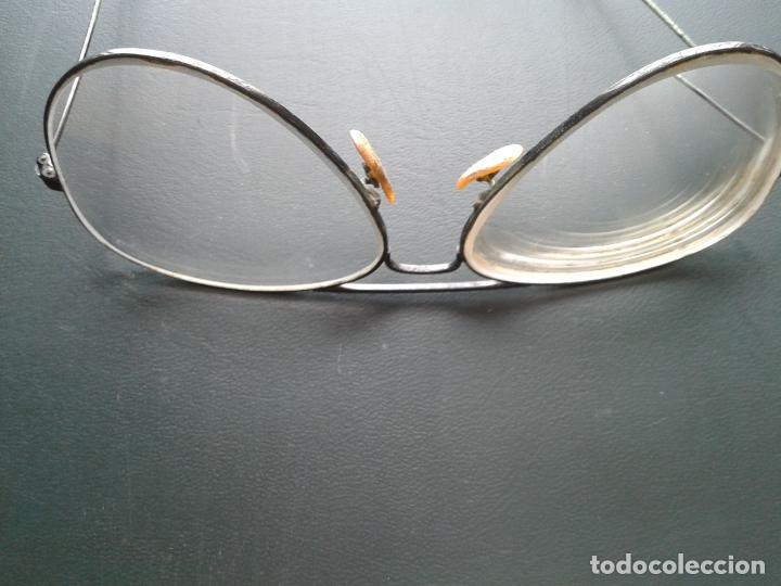Antigüedades: Gafas Ray Ban graduadas para cambiar cristales. Con montura en negro. años 70. En buen estado - Foto 4 - 254829665
