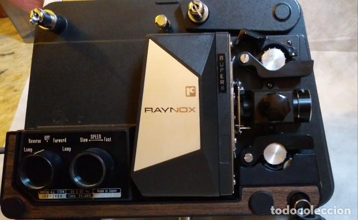 Antigüedades: PROYECTOR SUPER 8 RAYNOX - Foto 8 - 254840235